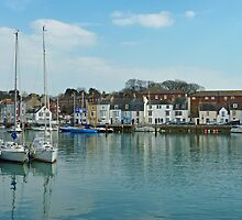 Weymouth  Harbour March 9th 2010 , Dorset by lynn carter