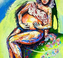 Pregnancy seriew - two by Annett E. Bank