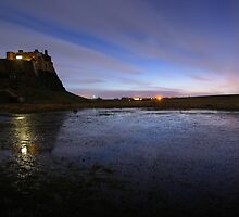 Lindisfarne Castle, Northumberland by David Lewins