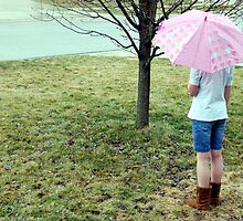 Girl in the Rain by Vonnie Murfin