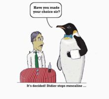 vision of penguin by Beub