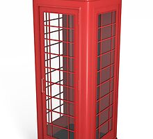 British phone booth by bribry