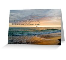 If you must speak ill of someone . . . Greeting Card
