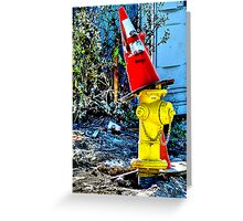 A Jaunty Witch's Cap Greeting Card