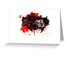 Aggression  Greeting Card