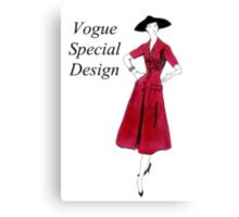 Vogue 1953 Canvas Print
