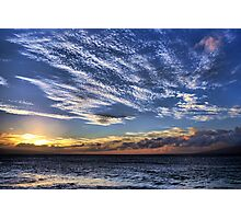 Royal Sunset Photographic Print