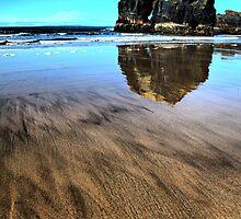 Virgin Rock Seascape - Ballybunion by A90Six