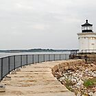 "Portland Breakwater Light -""Bug Light"" by John  Kapusta"