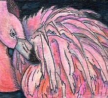 Preen ACEO by Heather Alley