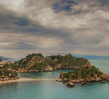 Panoramic view of Isola Bella by Andrea Rapisarda
