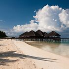 Beach Bar Maldives by Craig Ringland