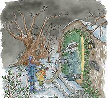 Mr Badger by Jannine Breddy