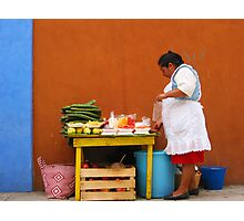 Mexican Woman Photographic Print