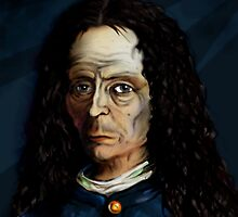 Robert Hooke by petergrego