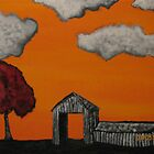 Orange horizons by josiahsday