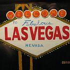 The las Vegas sign by josiahsday