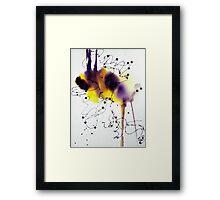 """""""Pests"""" Framed Print"""