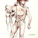 Stockman Gus by Cary McAulay