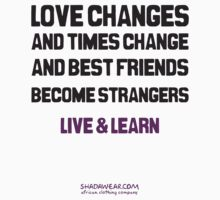 Best friends become strangers by kaysha