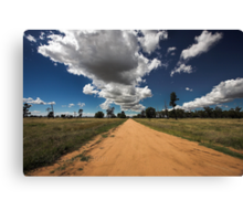 Sky Road Canvas Print