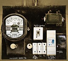 Old Meter by Carol Ritchie
