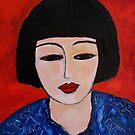 Asian girl by nelly  van nieuwenhuijzen