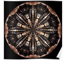 Schneeflocke für Gustav Klimt Poster