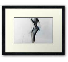 Unholy Smoke 002 Framed Print
