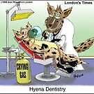 Hyena Dentistry by Londons Times Cartoons by Rick  London
