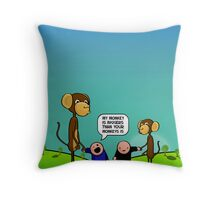 My Monkey Collectors Edition Throw Pillow