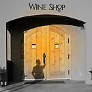 Entering Wine Shop by Tracy Riddell