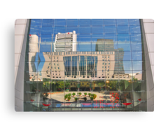 Reflections in Singapore Canvas Print