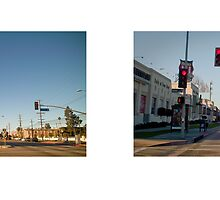 Venice Boulevard + Helms Avenue, Culver City, Los Angeles, California, USA...narrowed. by David Yoon
