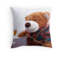 Nightcap Throw Pillow