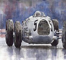 Auto Union Type C 1936 by Yuriy Shevchuk