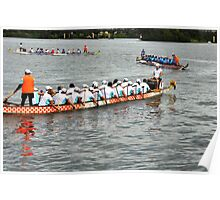 Dragon Boats -- Getting ready to race!!! Poster