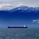Tanker at Anchor by George Cousins