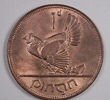 Irish Penny Hen with Chicks by bcaulfield