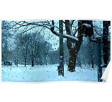 Wet Snow of Gothenburg Poster