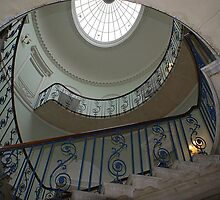 Somerset House, London, Nelson Staircase by BronReid