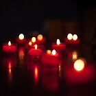 Candles - Saint-Guilhem, France - 2010 by Nicolas Perriault