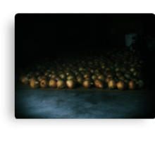 a flood of onions  Canvas Print