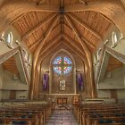 Peace Presbyterian Sanctuary by JGetsinger