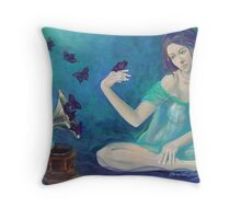 """Velvet obsessions"" Throw Pillow"