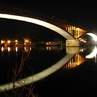 Night reflection by SpiralPrints