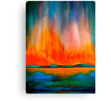 Landscape Abstract...Canon Canvas Print