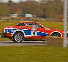 Triumph TR7 V8 by Willie Jackson