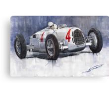 Auto Union C Type 1937 Monaco GP Hans Stuck Canvas Print