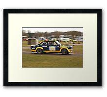 Fiat 131 Abarth Rallye Framed Print
